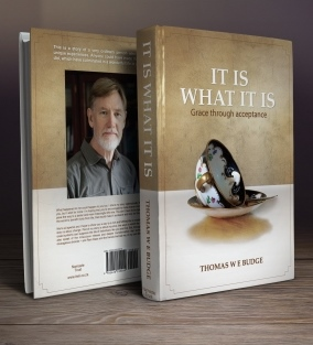 Back and front of the book: It Is What It Is